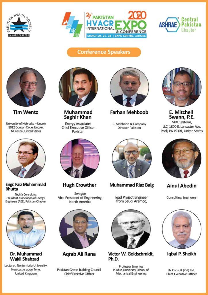 27th Pakistan HVAC&R Conference